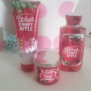 Bath & Body Works:  Winter Candy Apple Set